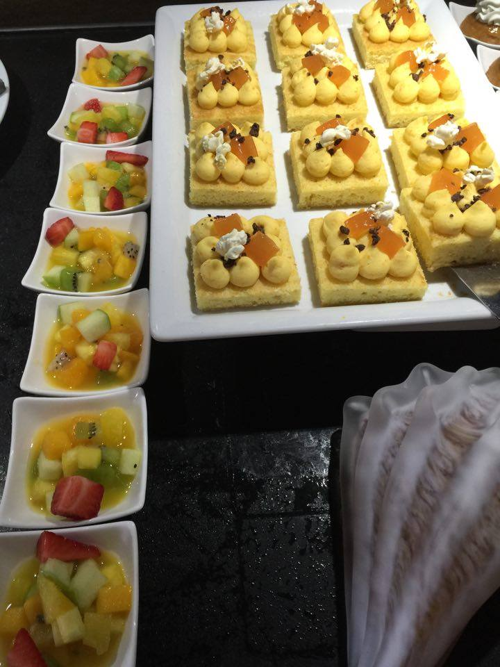 buffet sucre JW Marriott