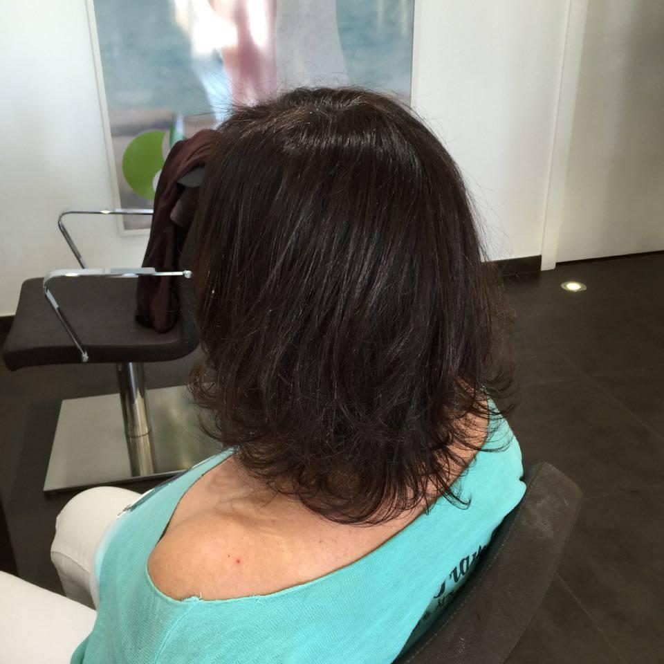 coiffure comme un charme après