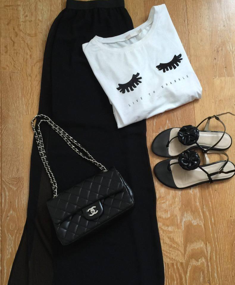 chic and jupe noire makemycinema été 2016