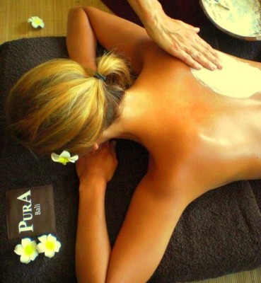 pura bali huile de massage