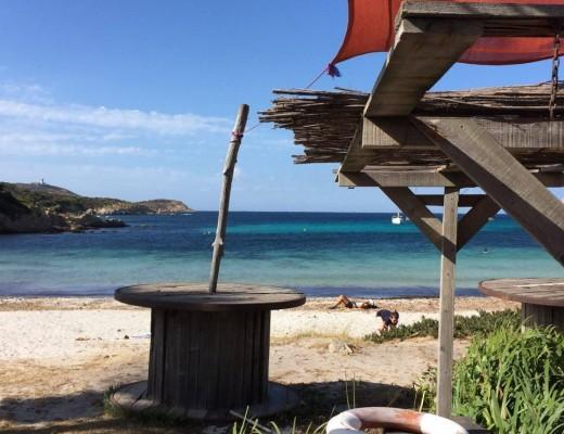 calvi paillote revellata  Mar a beach