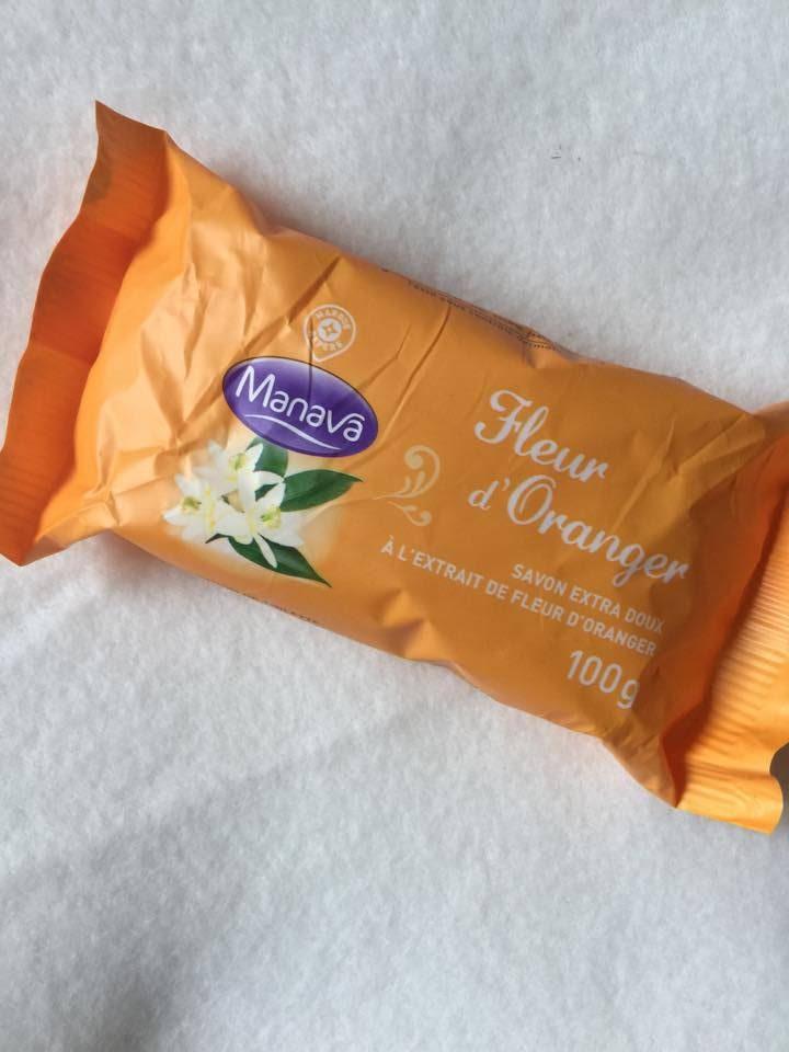 savonnette à la fleur d'Oranger , tout doux