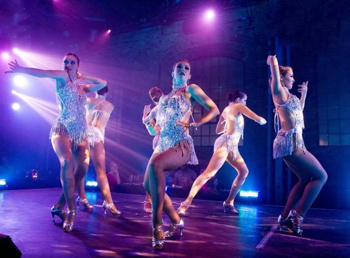 chorégraphies thème années folles the London cabaret Club