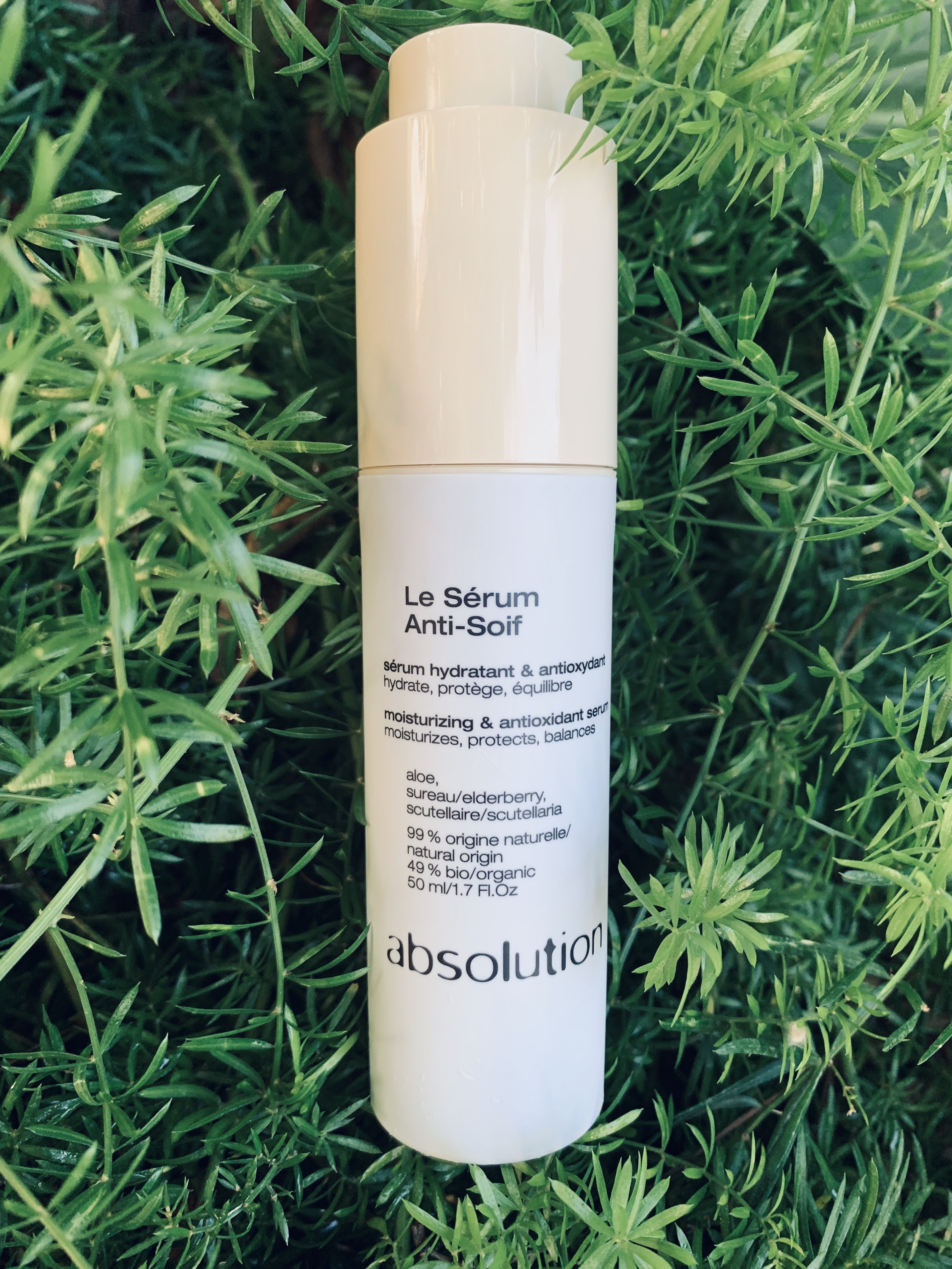 serum anti soif bio absolution disponible chez BIAUREA