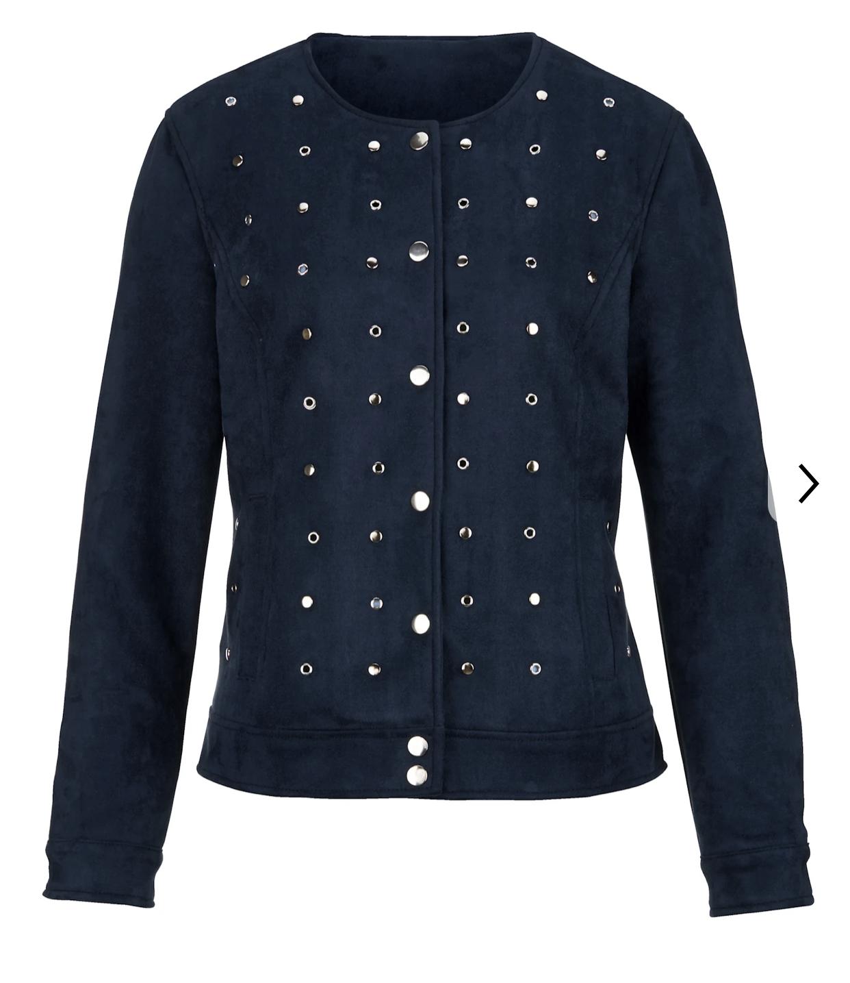 veste cuir synthétique laura Kent