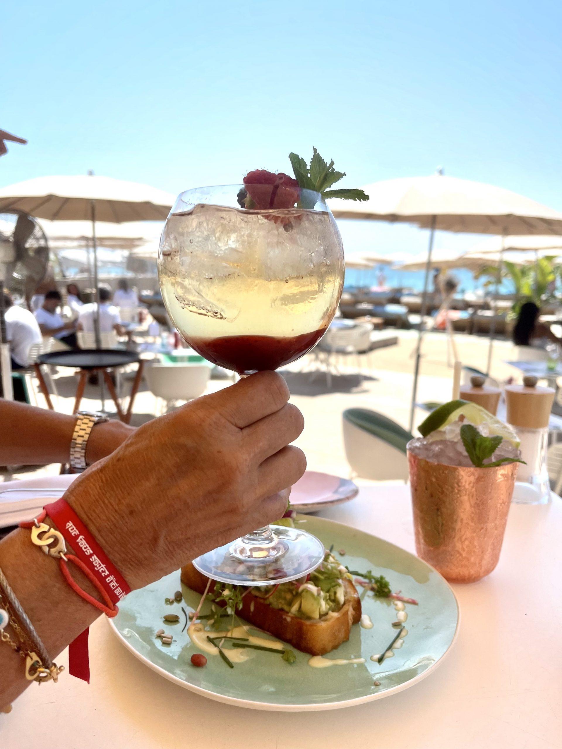 création bartender plage du 3.14 Cannes